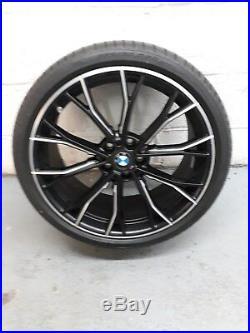 Bmw 5 Ser G30/g31 La M Performance Double Spoke 669m Alloy Wheels (matt Black)