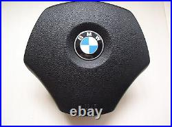 Bmw E90 E91 E84 Nappa Leather Ergonomic Inlays Steering Wheel Flat Bottom Thick