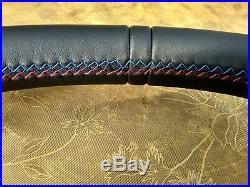 Bmw F07 F10 F01 Nappa Leather Ergonomic Inlays Heated Steering Wheel Flat Thick