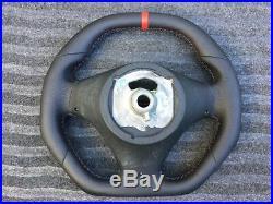 Bmw M3 E81 E82 E87 E90 E91 E92 E93 Flat Top&bottom Custom Made Steering Wheel