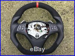 Bmw M3 E90 E91 E92 E93 Dct Paddle New Flat Bottom Custom Made Steering Wheel
