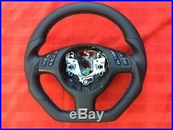 Bmw M3 M5 E46 E39 X5 M Sport Individual Flat Bottom Custom Made Steering Wheel