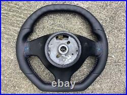 Bmw M3 M5 X5 E39 E46 New Custom Made Flat Top&bottom Steering Wheel