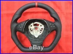 Bmw M3 Sport E81 E82 E90 E91 New Flat Bottom Custom Made Steering Wheel