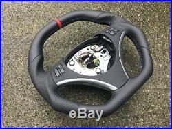 Bmw M3 Sport E82 E87 E90 E91 E92 E93 Flat Top&bottom Custom Made Steering Wheel