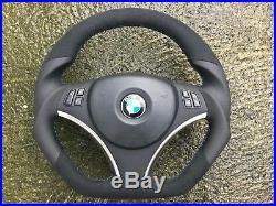 Bmw M3 Sport E90 E91 E92 E93 New Flat Bottom Custom Made Steering Wheel
