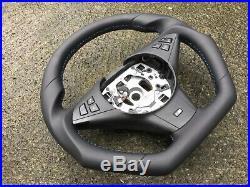 Bmw M5 M6 E60 E61 E63 E64 LCI New Custom Made Flat Bottom Steering Wheel