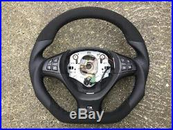 Bmw X5 X6 E70 E71 M Sport New Custom Made Flat Bottom Steering Wheel