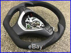Bmw X5 X6 E70 E71 Sport Dct Paddle New Custom Made Flat Bottom Steering Wheel