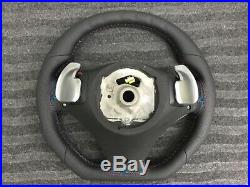 Bmw X5 X6 E70 E71 Sport Smg Paddle New Custom Made Flat Bottom Steering Wheel