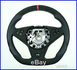 Bmw custom steering wheel E60 E61 E63 E64 5 6 M flat bottom thick M 06-09 M5 M6
