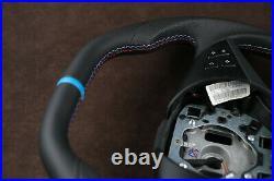Bmw e60 e61 e63 e64 5 6 650i 550i steering wheel 06-08 custom flat top bottom