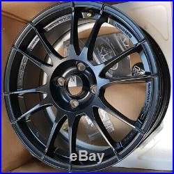 CHIPPED OZ Racing Ultraleggera Alloy Wheel Matt Black 17x7 Inch ET42 4x108