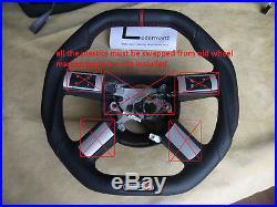 Chrysler 300 300c custom steering wheel Flat bottom square top HEMI srt8 RT OEM