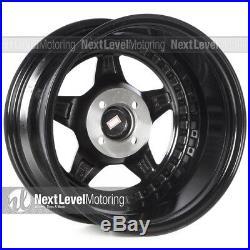 Circuit Performance CP26 15x8 4-100 +25 Flat Black Bronze Lip Wheels (SET OF 4)