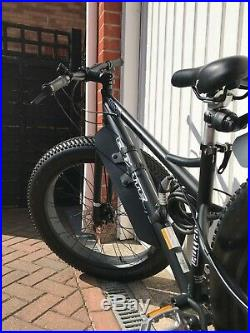 Coyote Fatman Adult Fat Bike 26 Wheel matt Black Upgraded