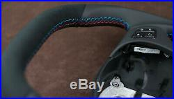 Custom steering wheel BMW E90 E92 E81 E97 E82 E93 1 M 3 E88 E81 Flat Bottom +Top