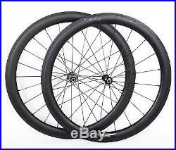 DT 50mm Carbon Clincher Wheel Novatec Front Rear Rim 700C UD Matt Road Bike 25mm
