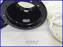 DWT G3 White Rear Dual Beadlock Rims Wheels 9 9X9 4/115 YFZ450 Banshee Raptor