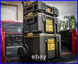 Dewalt Large Rolling Toolbox on Wheels Travel Storage Chest 3 pc ToughSystem 2.0