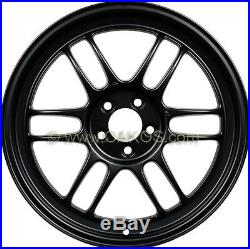 Enkei RPF1 Wheels 18x9.5, 15mm, 5x114.3, Matte Black for EVO 8 9 X 350Z Rims