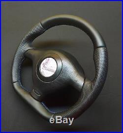 FLAT BOTTOM Steering Wheel VW GOLF MK4 GTI R32 BORA PASSAT RACING R8 STYLE