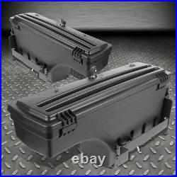 FOR 02-18 DODGE RAM 1500 2500 3500 TRUCK L+R WHEEL WELL STORAGE TOOL BOX WithLOCK