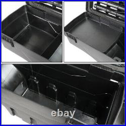 FOR 07-19 SILVERADO SIERRA TRUCK BED WHEEL WELL STORAGE TOOL BOX WithLOCK RIGHT