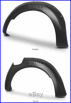 Fender Flare Kit Black For Ford Ranger T6 PX1 2011-2014 Wheel Arch ABS Flares KT