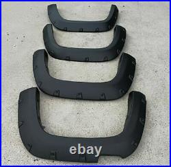Fender Flares Wheel Arch For 2010-2020 Volkwagen Amarok Pocket Style Matt black