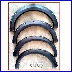 Fender Flares Wheel Arch Matte Black For Mitsubishi Triton L200 MN ML 2005-2013
