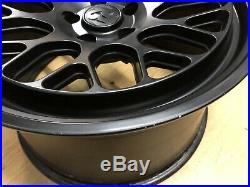 Fifteen52 Formula GT Matt Black Alloy Wheels 9.5 & 11x19 BMW 5x120 Staggered