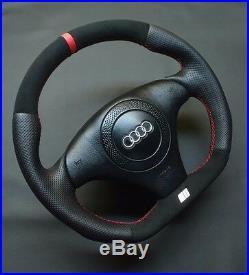 Flat Bottom Steering Wheel A4 S4 (b5) A6 (c5) Tt! Extra Padding! R8 Style