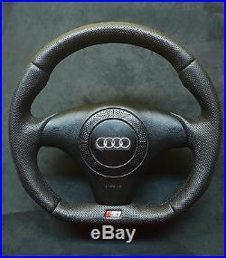 Flat Bottom Steering Wheel A4 S4 (b5) S4 Badge! R8 2017 Style