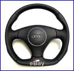 Flat Bottom Steering Wheel A4 S4 (b6) Genuine New S4 Badge! R8 Style