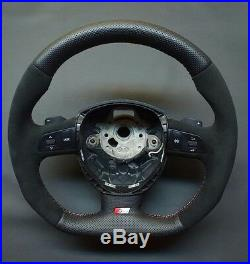 Flat Bottom Steering Wheel Audi A3/s3 A4/s4 A5/s5 A6/s6 Q7! R8 Style