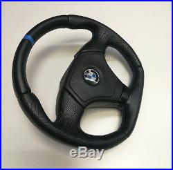 Flat Bottom Steering Wheel Bmw E36 E39 E46 Z3! Alcantara+ Leather