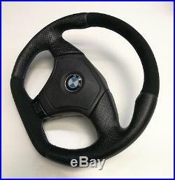 Flat Bottom Steering Wheel Bmw E36 E46 Z3! Alcantara+ Leather