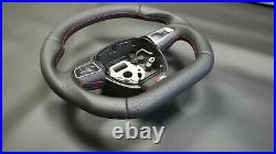 Flat bottom steering wheel with paddles Audi A3, S3, RS3, A4, S4, RS4, A5, S5