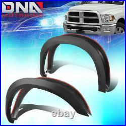 For 2010-2018 Dodge Ram 2500/3500 4pcs Factory Style Matte Wheel Fender Flares