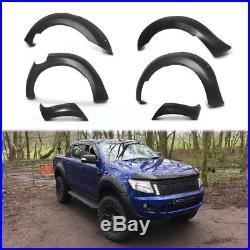 Ford Ranger T6 Raptor 2012-2015 MATTE BLACK XO Wide Wheel Arch Kit Flares