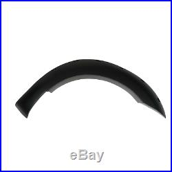 Ford Ranger T7 2016-2018 Smooth Black Wheel Arch Kit With Holes Fender Flares