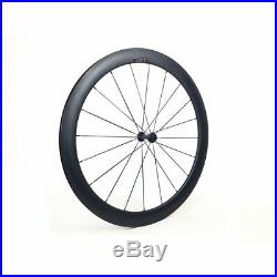 Full Carbon Road Bike Frame Wheelset 700C Road Bicycle Frameset BSA Black Matte