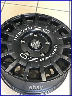 Genuine 18 Ford Transit Oz Matt Black Alloy Wheels Custom Alloys