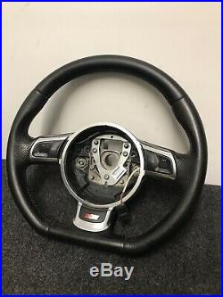 Genuine Audi S Line Flat Bottom Steering Wheel 8J0419091G. TT MK2 8J A3 8P 16C