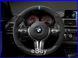 Genuine BMW M Performance Carbon/Alcantara Flat Bottom Steering Wheel M2/M3/M4