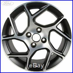 Genuine Ford Fiesta Mk8 17 Alloy Wheel 5x2 Spoke Black Matt Machined 2169241