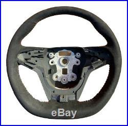 Genuine Holden HSV VF GTSR W1 Alcantara Steering Wheel Flat Bottom Red Stitch Ma