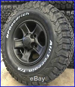 Genuine Land Rover Defender Boost 16 Matt Black Wheels & BF Goodrich Tyres x5