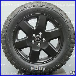 Genuine Land Rover Discovery 4/3 Hse 19 Satin Black Alloy Wheels & Mt Tyres X4